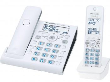 パナソニックデジタルコードレス電話機 VE-GDW54DL-W