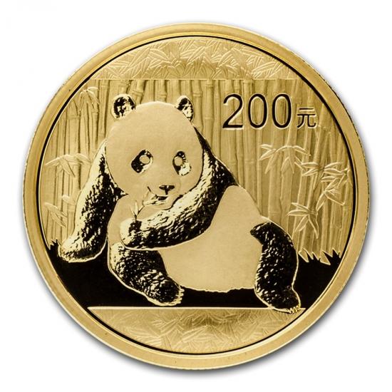 中国・パンダ金貨