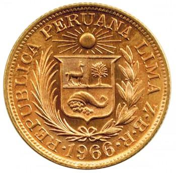 ペルー・インディアン金貨