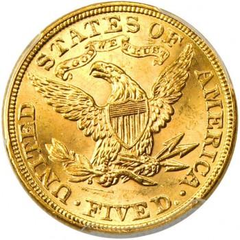 アメリカ5ドル金貨