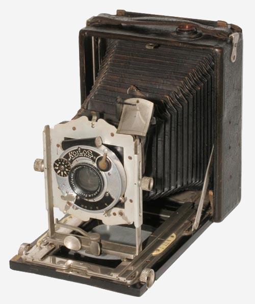 蛇腹式カメラ エミールブッシュ