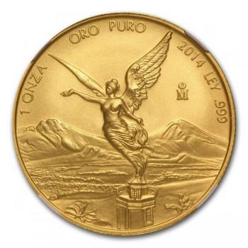 メキシコ・リベルタード金貨