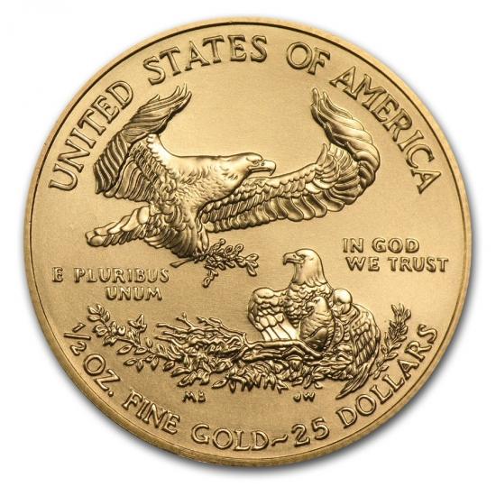 アメリカ・イーグル金貨