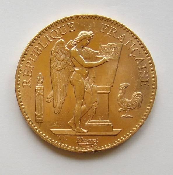 フランス100フラン金貨