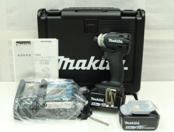 マキタ makita 充電式インパクトドライバ TD148DRTXB 5.0Ah 18V