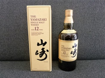 山崎 12年 SINGLE MALT WHISKY