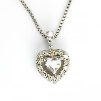 ダイヤモンド ハートシェイプ(ネックレス)