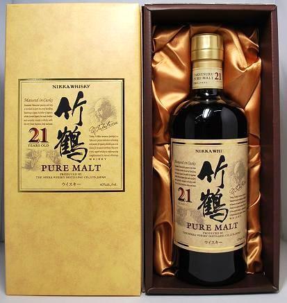 ニッカ 竹鶴ピュアモルト21年