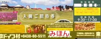 東京ドイツ村 入園ご招待券