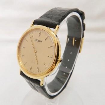 シチズン エクシード 8020-F00037 メンズ腕時計 K18YG 750
