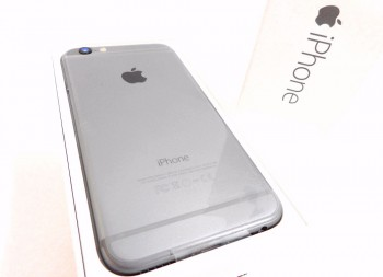 iPhone6 16GB スペースブラック アイフォン メガドンキ四街道店