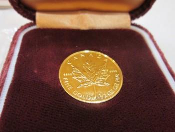 K24 金貨 コイン 1/2 oz(オンス) エリザベスⅡ