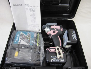 マキタ 14.4V充電インパクトドライバー TD137D 新品
