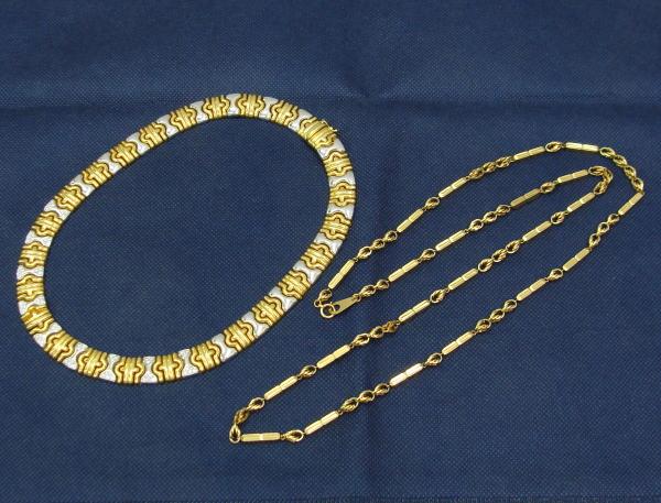 貴金属 金 プラチナ ネックレス