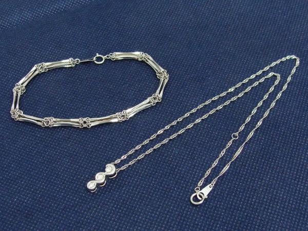 貴金属 プラチナ ネックレス ブレスレット