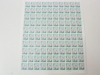 普通切手 52円 100枚 シート