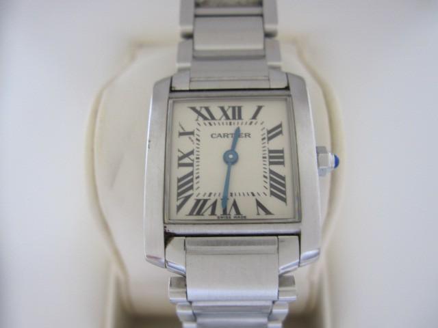 CARTIER カルティエ 2384 タンクフランセーズ 腕時計