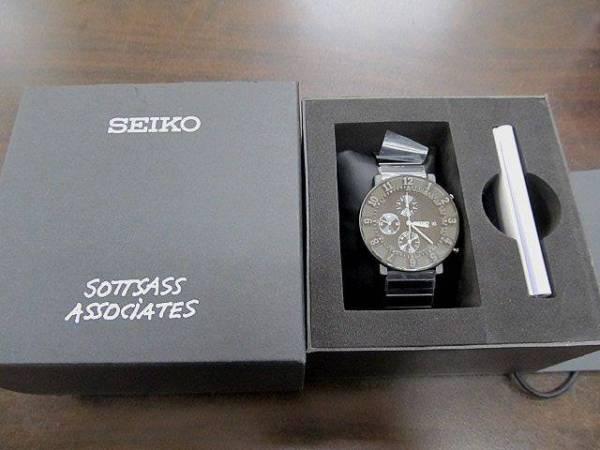 SEIKO×SOTTSASS スピリットスマート SCEB035 腕時計 黒 未使用