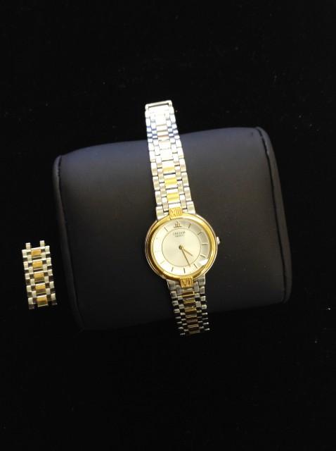 セイコー クレドール K18コンビ ジャンク 腕時計 高価お買取りです!茂原店