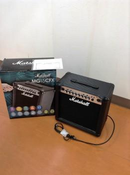マーシャル MG15CFX 15Wコンボ 4ch 楽器 高額査定です!茂原店