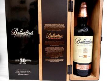 Ballantine's 30 Years Old バランタイン 30年 を高価買取させて頂きました。メガドンキ四街道店