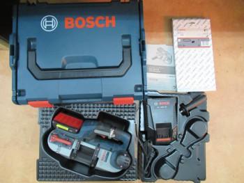 BOSCH バッテリーバンドソーGCB18V-LI型 キャリングケース付 一式