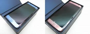 docomo Galaxy S7 edge SC-02H Pink Gold / Biue Coral  2台
