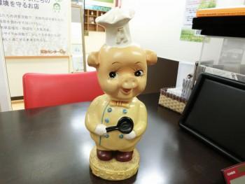 エースコック 豚 レトロ人形