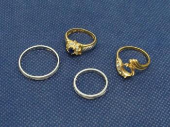 貴金属買取 金・プラチナ 指輪いろいろ