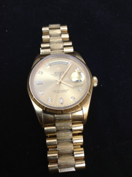 ロレックス K18 ダイヤ 金 腕時計 高価買取致しました ♪ 茂原店♪