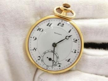 モバード 18K 15石 懐中時計 手巻き
