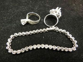 貴金属 指輪  ダイヤ ブレスレット PT900