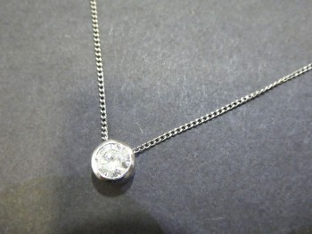 PT900 ダイヤネックレス D1.095ct