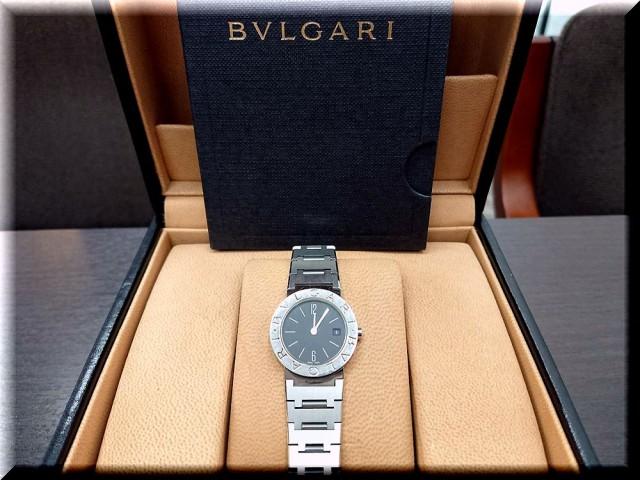 BVLGARI ブルガリ BB26 レディースクォーツを高価買取致しました。