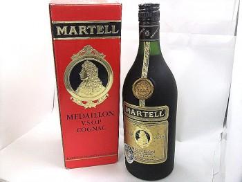 マーテル コニャック メダイヨン 箱付 古酒