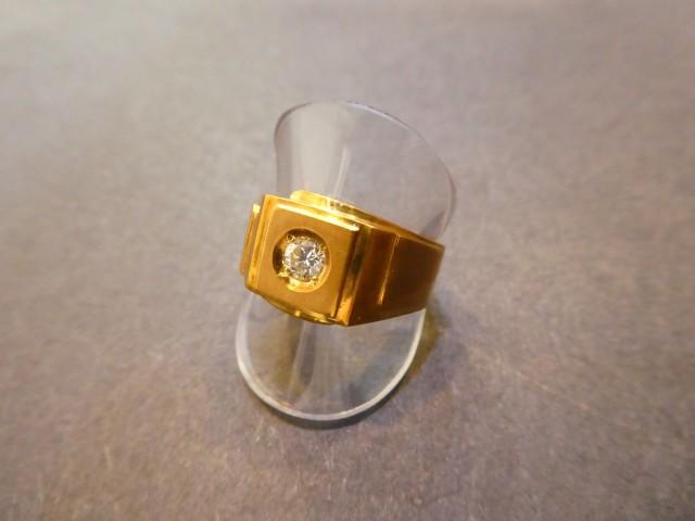 K18 ダイヤモンドリング D0.2ct