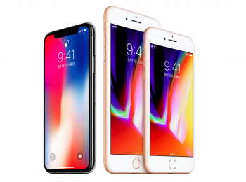 iPhone8、iPhone8 Plus、iPhone X
