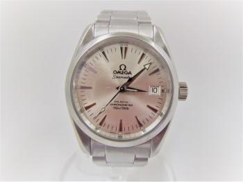 オメガ シーマスター アクアテラ コーアクシャル 自動巻き 腕時計