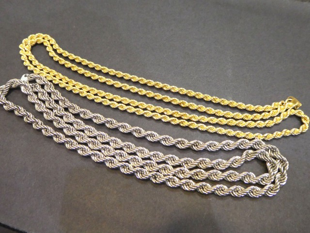 K18 PT850 ネックレス2本