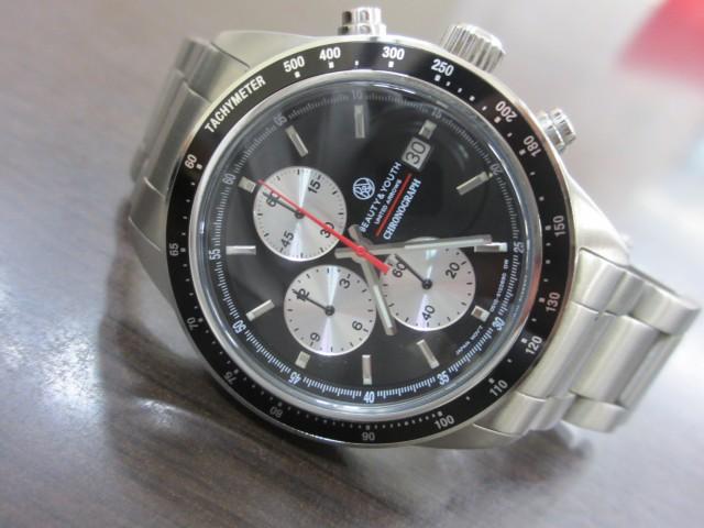 ビューティ アンド ユース 腕時計