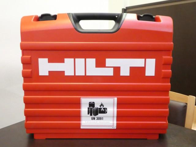 ヒルティ ガス式鋲打機 GX3
