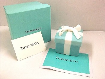 TIFFANY&Co. ティファニー アクセサリー入れ 陶器
