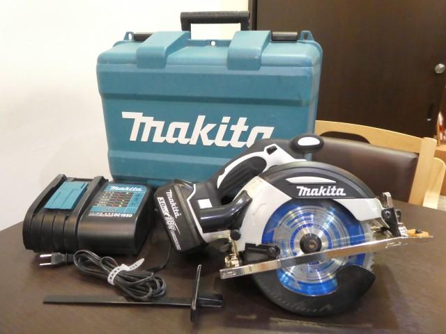マキタ 165mm 充電式マルノコ HS630DRFXW