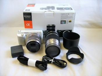 SONY ソニー α NEX-F3 ダブルレンズキット カメラ