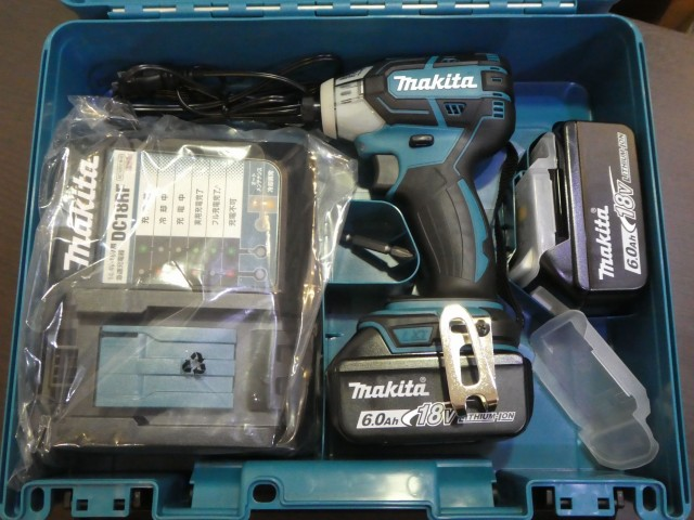 マキタ 充電式ソフトインパクトドライバ TS141DRGX