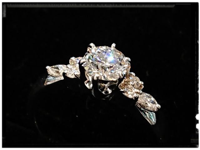 ダイヤ買取★0.62ctのPT900ダイヤモンドリングを高価買取させて頂きました。