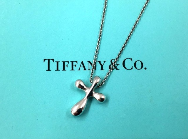 Tiffany&Co. スモールクロス シルバー925 ネックレス