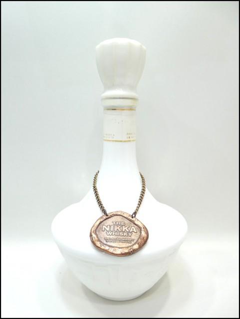 ニッカ ウイスキー 鶴 陶器ボトル