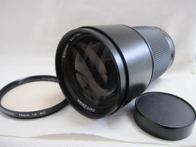 コンタックス Carl Zeiss Sonnar T* F2.8/180 レンズ