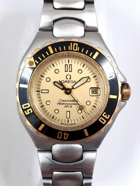 OMEGA オメガ シーマスタープロフェッショナル200M QZ SS  ジャンク品 腕時計